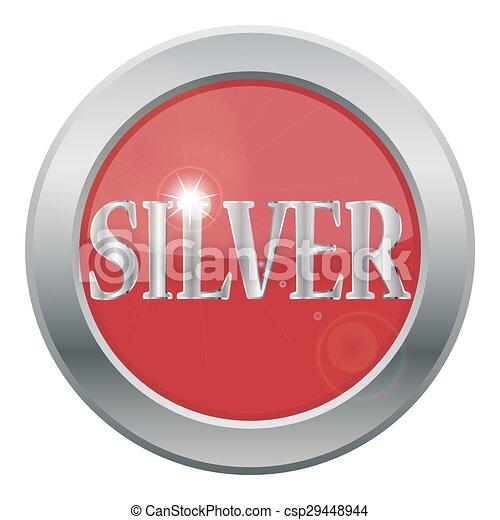 icono de plata - csp29448944