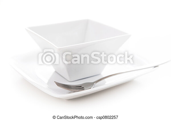 Plate and bowl - csp0802257