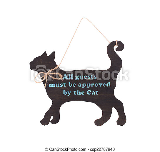 Plate in the form of a cat. - csp22787940