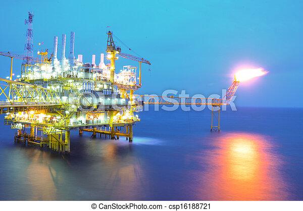 platform., essence, huile - csp16188721