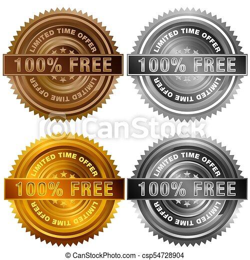 3802b8ffd495 One Hundred Percent Free Limited Time Offer Bronze Silver Gold Platinum  Stamp Set