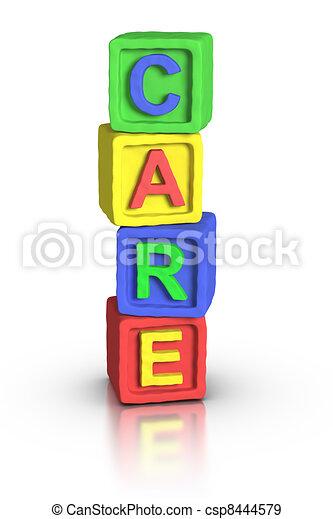 Play Blocks : CARE - csp8444579