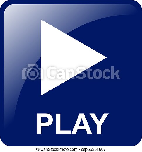 Play Button - csp55351667