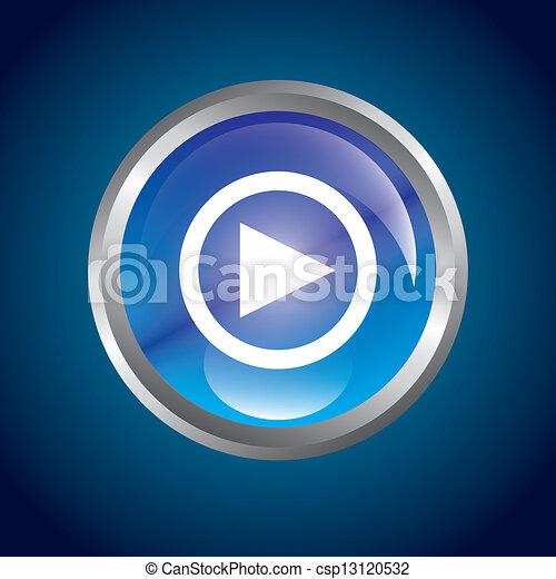 play button - csp13120532