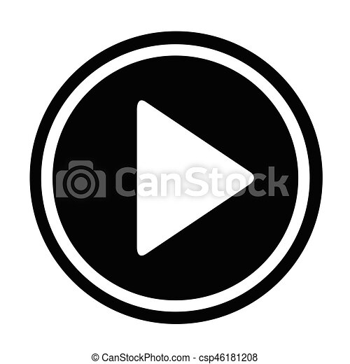 play button icon vector clipart search illustration drawings and rh canstockphoto com play button vector png play button vector file