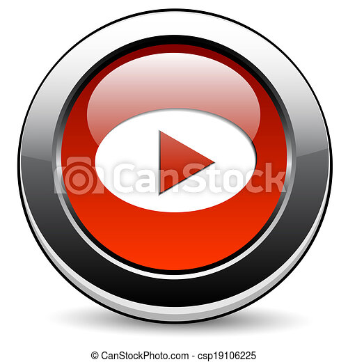Play button - csp19106225