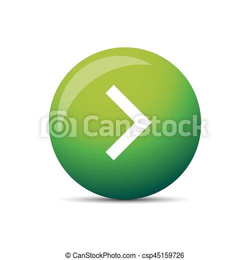 Play button round - csp45159726