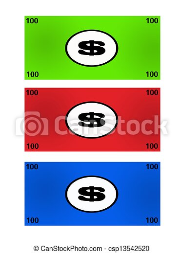 play money an illustration of poker money on a white clip art rh canstockphoto com play money clip art free