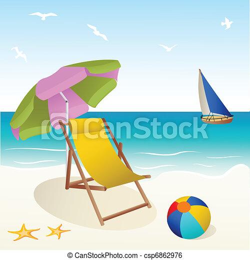 Playa - csp6862976