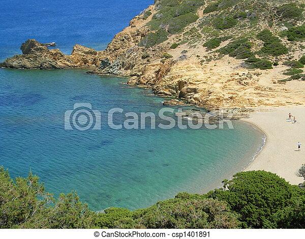 Crete, Kalo Nerón Beach - csp1401891