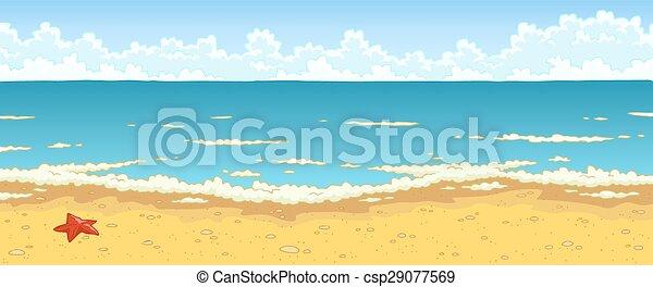 Clip art vectorial de playa de arena mar vector plano for Arena de playa precio