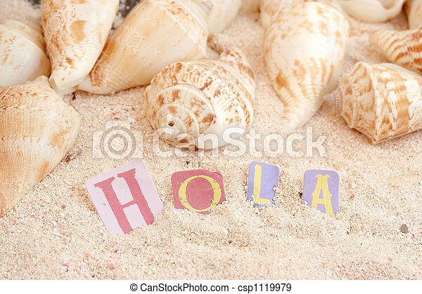 Playa española - csp1119979