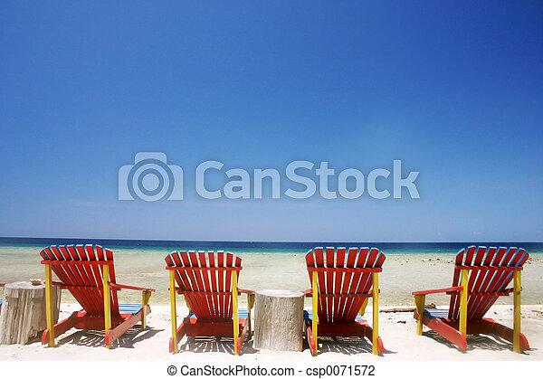 Playa tropical - csp0071572