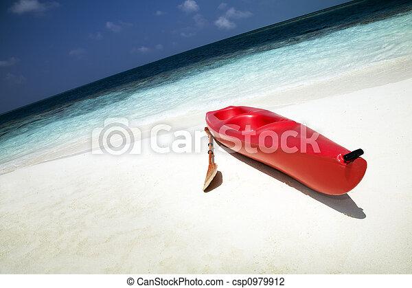 Playa tropical - csp0979912