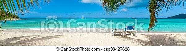 Playa tropical - csp33427628