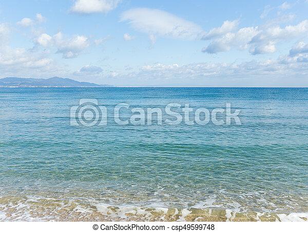 Playa tropical - csp49599748
