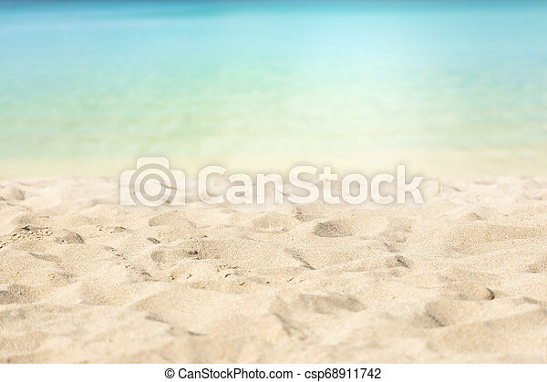 Playa tropical - csp68911742