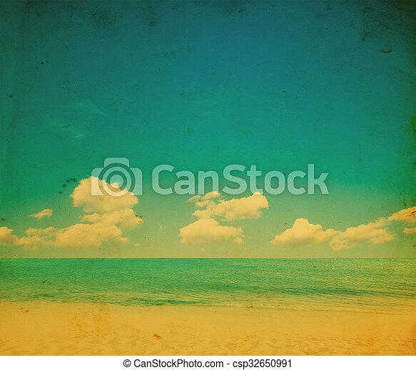 Playa tropical - csp32650991