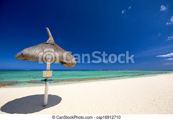 Playa tropical - csp16912710