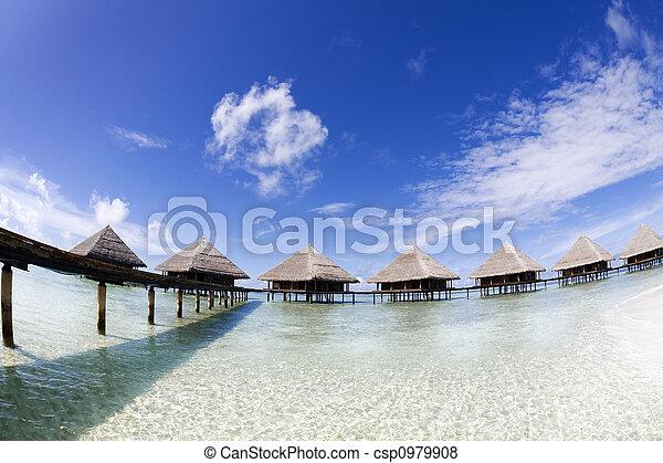 Playa tropical - csp0979908