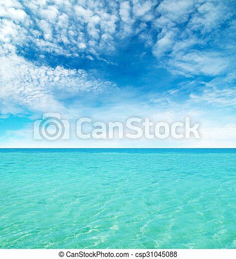 Playa tropical - csp31045088