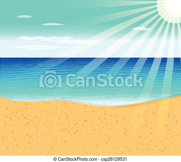 Playa tropical - csp26129531