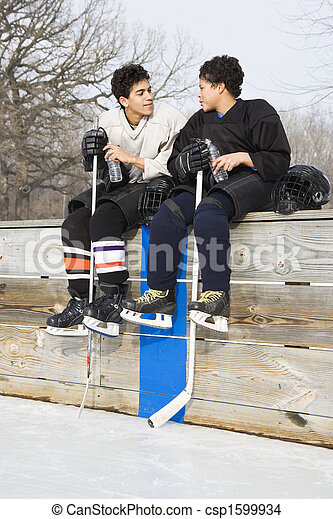 players., hockey, is - csp1599934