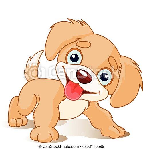 Playful Puppy - csp3175599