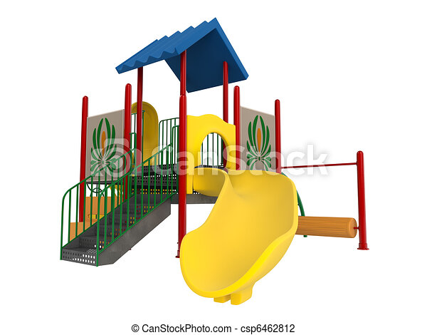 playground isolated on white background clip art search rh canstockphoto com clip art playground pictures clipart playground black and white