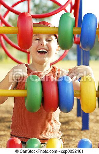 Playground laughs - csp0032461