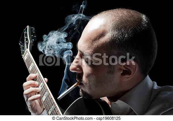 Playin' n' Smokin' - csp19608125