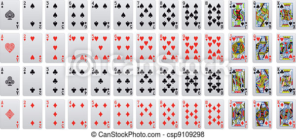 playing card - csp9109298