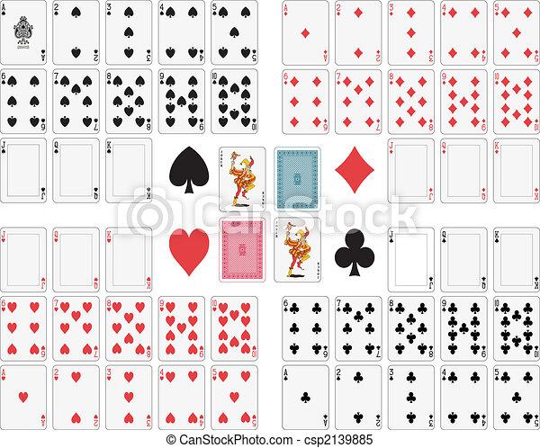 Playing Cards - csp2139885