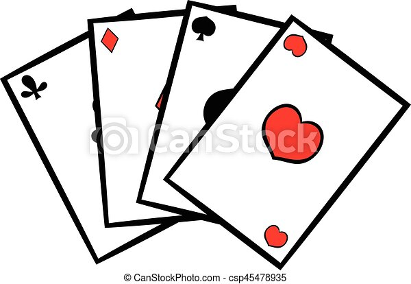 playing cards icon icon cartoon playing cards icon in icon rh canstockphoto com vector playing card back vector playing cards symbols