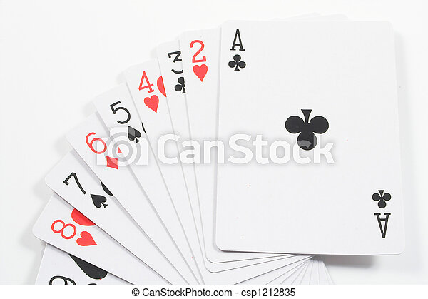 Playing Cards - csp1212835