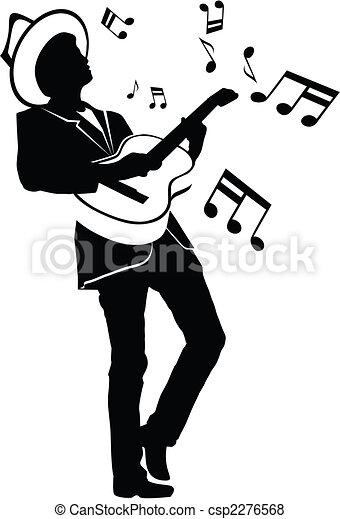 Playing Music - csp2276568