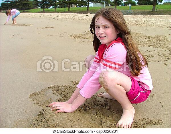 Playing sand - csp0220201