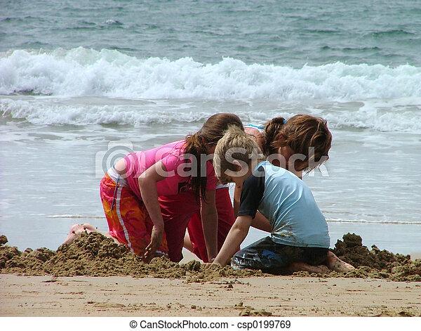 playing sand - csp0199769