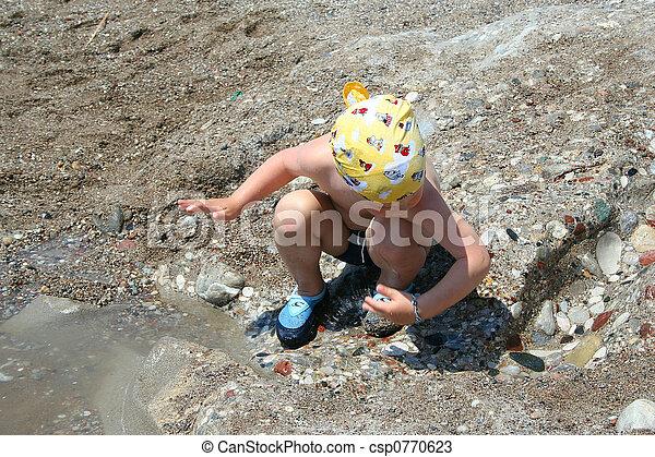 Playing Sand - csp0770623