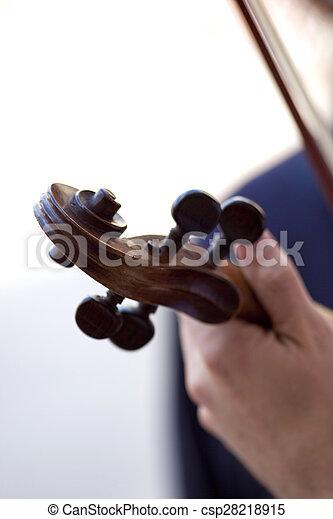 Playing violin - csp28218915