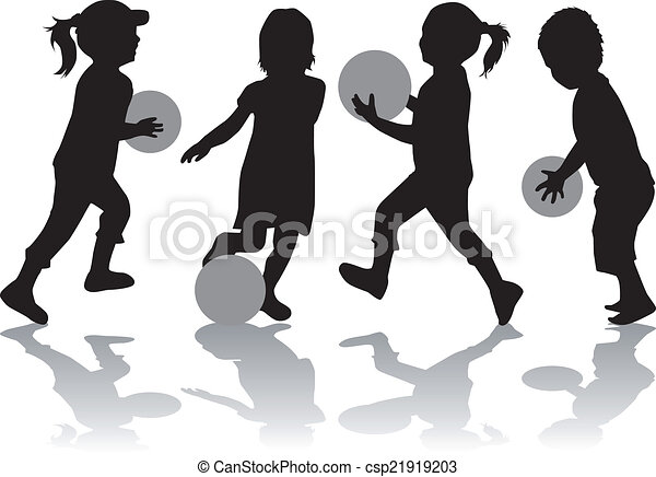 Playing with a ball - csp21919203