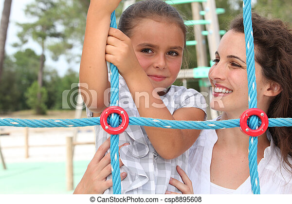 playtime outdoors - csp8895608