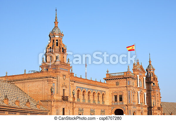 Plaza de Espana, Sevilla - csp6707280