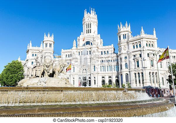 Plaza de la Cibeles Madrid - csp31923320