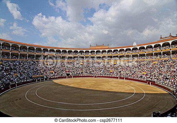 Plaza del Toros de LaS Ventas, Madrid - csp2677111