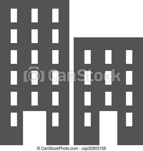 plaza, residencial - csp32903156
