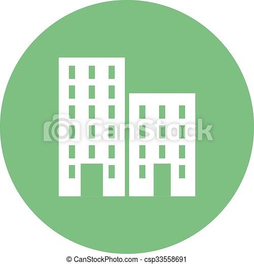plaza, residencial - csp33558691