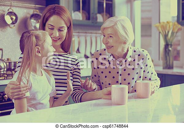 Brunette Gets Pleased Granny