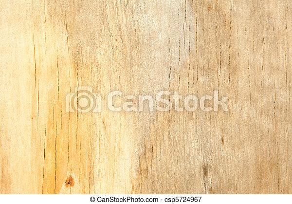 pleine armature, taché, haut, jaune, eau, grain bois, fin - csp5724967