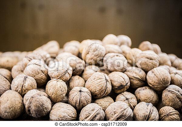 Plenty of walnuts. - csp31712009